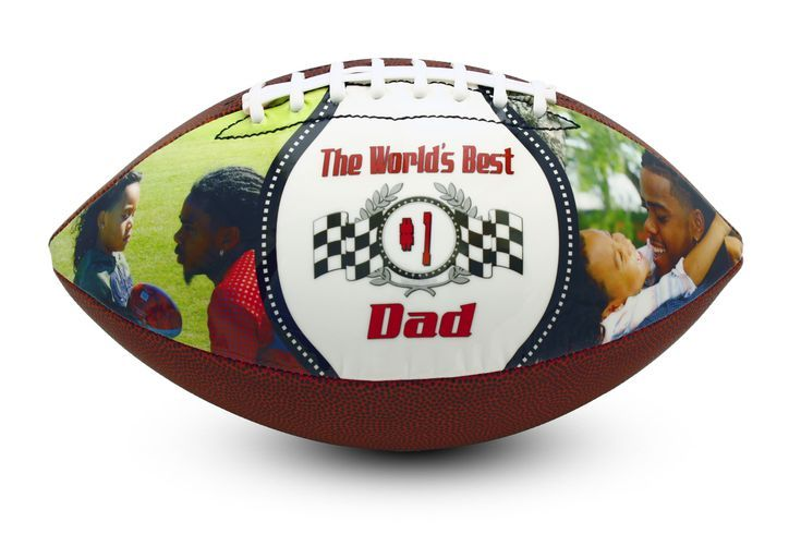 Perfect Father's Day gift ideas for the football loving dad, grandpa, husband! Customize your football gift with pictures, art, photography, images of…