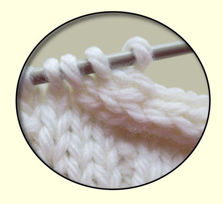 TECHknitting: I cord bind-off, I-cord selvedge border