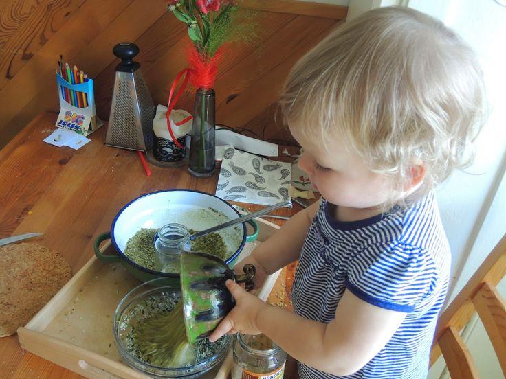 osem rúk doma: Green rice