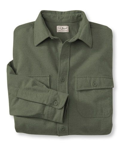 Bean 39 S Chamois Cloth Shirt Flannel Chamois And Lined