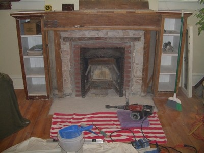 How To Remove A Wood Burning Fireplace Insert Ours Has Got To Go Note To Dw Pinterest