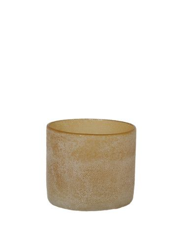 Tell Me More Small Brown Candle Holder: The Tell Me More Candle Holder with frosted glass is a really beautiful item, simple and elegant, it would look lovely with a plain or coloured candle. Perfect by itself or create a little group of them with different colours and sizes for a statement.