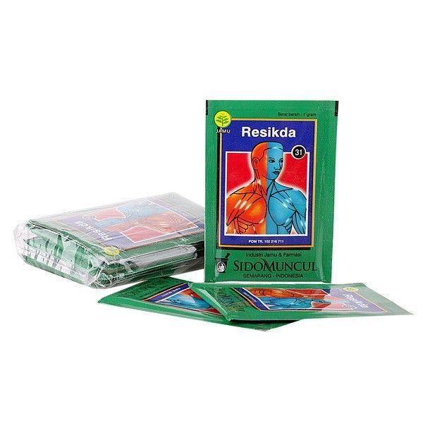 Jamu Resikda SidoMuncul - ber khasiat mengurangi gatal-gatal pada kulit dan membantu mengatasi jerawat. Jual harga murah  Khasiat Dan Kegunaannya : Membantu mengurangi gatal-gatal pada kulit dan membantu mengatasi jerawat  http://rumahjamu.com/jamu-tradisional-instan/135-jamu-resikda-sidomuncul-ber-khasiat-mengurangi-gatal-gatal-pada-kulit-dan-membantu-mengatasi-jerawat-jual-harga-murah.html  #sidomuncul #jamuresikda #jamusidomuncul #jamugatal #jamukemasan