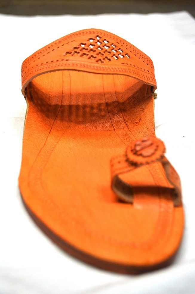 Ladies Puda Flat - Meena Patta (Punching Design) from Lal10.com