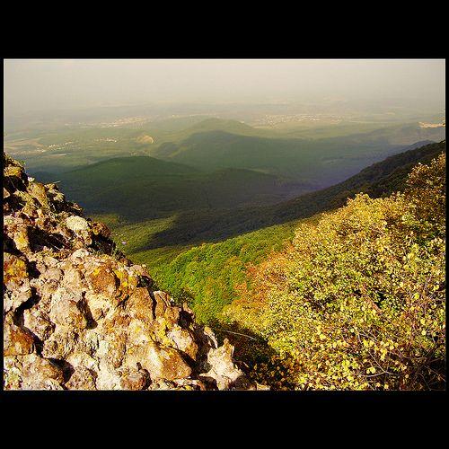 Október a Saskőn / October in Saskő Hill - Sas-kő, Mátra Mountains, Hungary