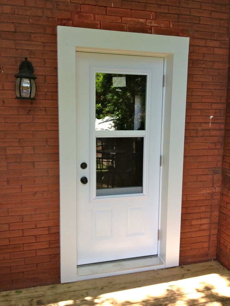 Doors Windows: Exterior Door With Windows That Open Istranka For