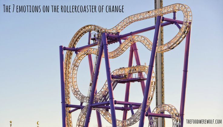 The 7 emotions on the roller coaster of change — The Food Werewolf #change