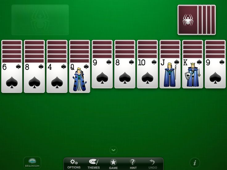 Play Spider Solitaire • Play Free Spider Solitaire Game Online Today!  The first goal to play Spider Solitaire is to open columns. The goal is then to try to get another empty column. After the two empty columns, play Spider Solitaire starts to become winner, but if you can, try to form another empty column.  Play Now: http://playfreeonline32.com/play-spider-solitaire/