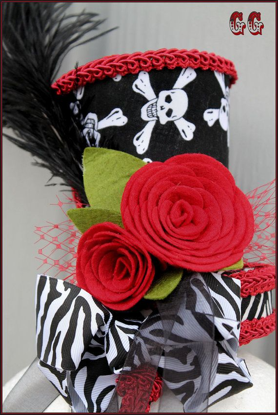 79 best diy hats images on pinterest hats mad hatter hats and ebook pdf pattern no sew mini top hat burlesque photo prop girls party halloween pageant diy fandeluxe PDF