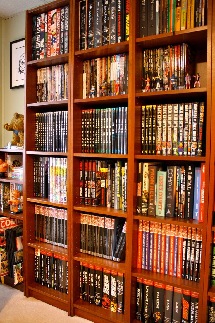 Best 25 Comic Book Collection Ideas On Pinterest