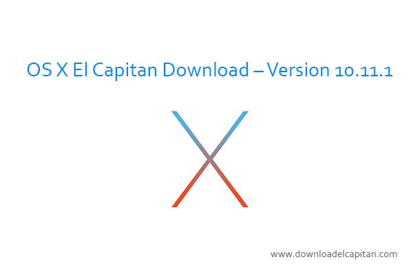 OS X El Capitan download