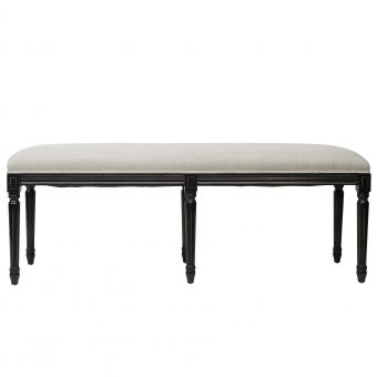 Ottoman for end of bed or in the window space. Also available in oak $362