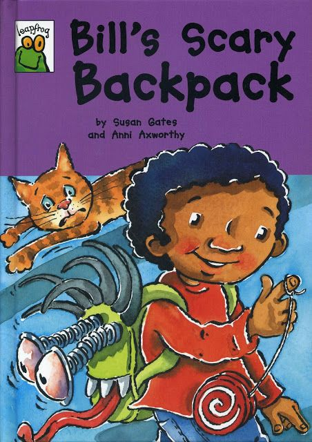 """2010 """"Bill's Scary Backpack"""" published by Franklin Watts"""