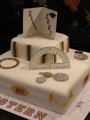 University Graduation Cake on Cake Central
