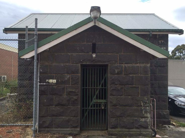 Old Colac Police Lockup in Victoria.  Behind the Police Station. #twistedhistory #policecells #lockup #colac
