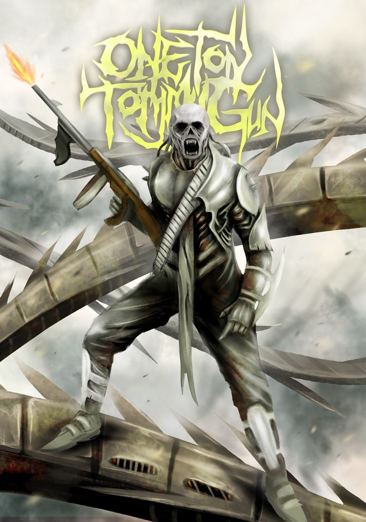 One Ton Tommy Gun, Mickey Tombkick on ArtStation at https://www.artstation.com/artwork/LlyOR