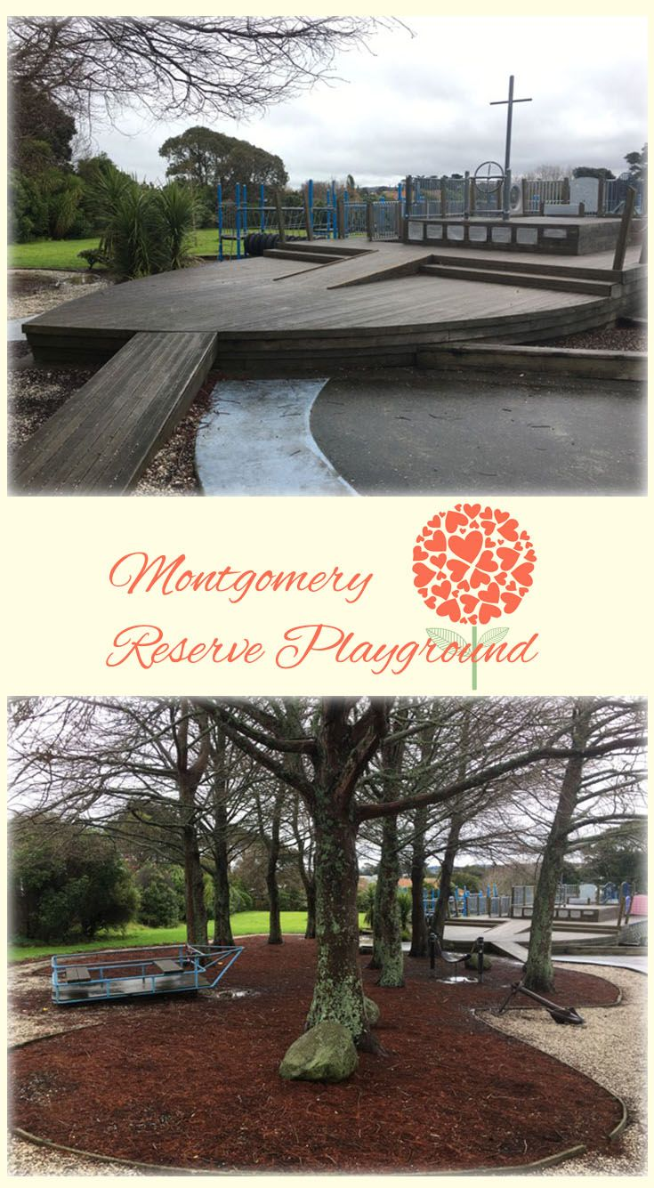 Montgomery Reserve Playground Auckland: Magnificent Boat Themed Playground, Spacious and Lots to Explore! Perfect Place for Little Adventurers!