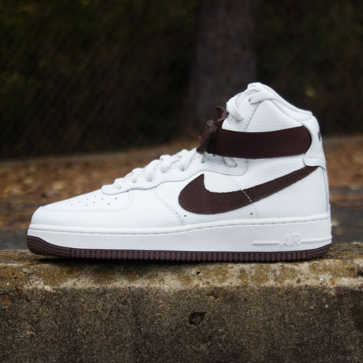 """The Nike Air Force 1 High """"Chocolate"""" is out and available"""