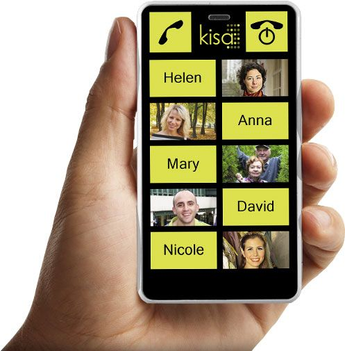 Great easy to use mobile phone by KISA!