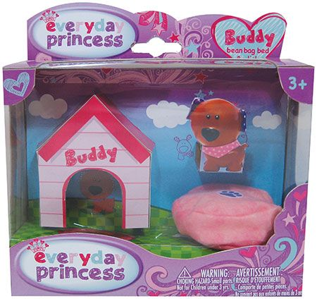 Everyday Princess Buddy and Dottie & Bean Bag Bed