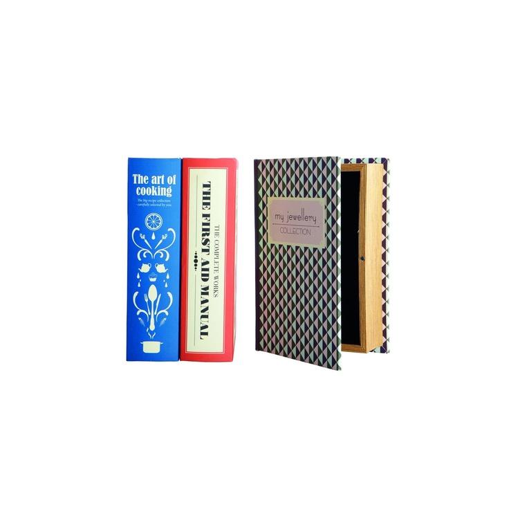 Knowledge förvaringsbox 17x26 i gruppen Inredningsdetaljer / Förvaring hos RUM21 AB (113579)