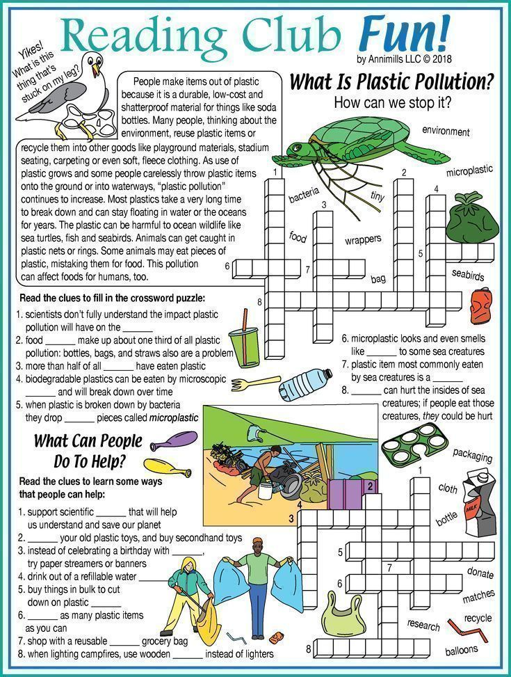 What Is Plastic Pollution Water Pollution Earth Day Puzzle