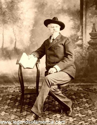 Buffalo Bill Cody -- By the turn of the 20th century, William F. Cody was probably the most famous American in the world. No one symbolized the West for Americans and Europeans better than Buffalo Bill. He was consulted on Western matters by every American president from Ulysses S. Grant to Woodrow Wilson