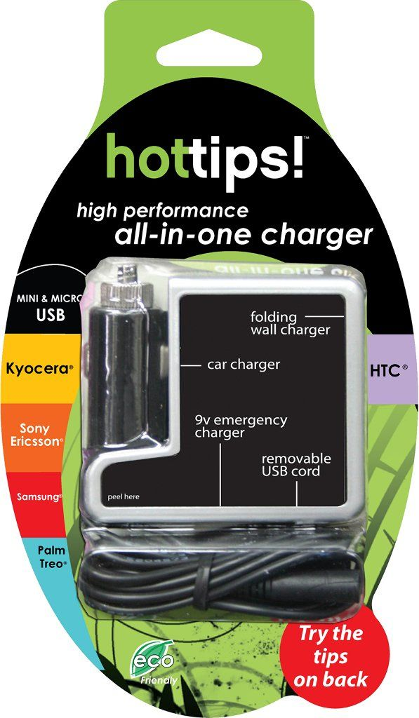 Wholesale Hottips! Multi-Tip Samsung/Sony/Kyocera/Palm All-In-One Charger (Case of 48)