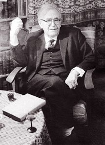 For those of you that thought theologians couldn't be debonair: Karl Barth.