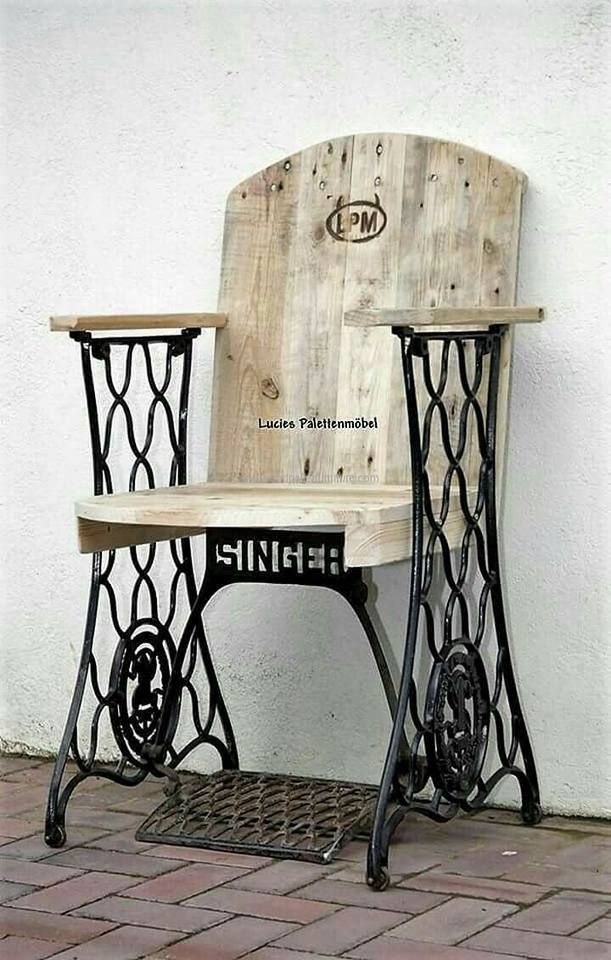 Old Singer Sewing Machine Chairs