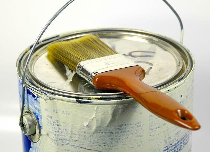 Wallpaper glue & repainting Painting tools, Diy interior