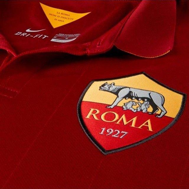 Maglia Nike Roma Dettaglio