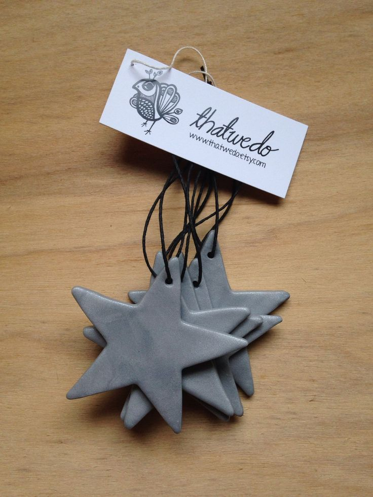 Handmade Christmas Decorations Pack - Silver by ThatWeDo on Etsy https://www.etsy.com/listing/214034346/handmade-christmas-decorations-pack