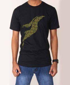 Kaos Culture Black terbuat dari bahan cotton combed 30s, halus dan sangat nyaman dipakai