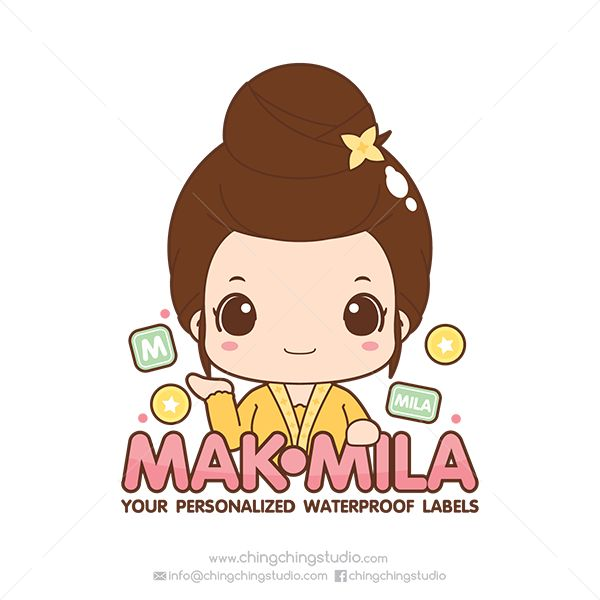 Logo Design for Mak Mila | by chingchingstudio