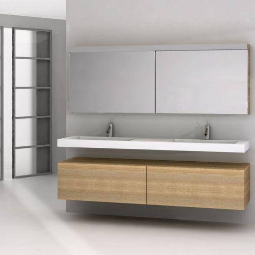 25 beste idee n over badkamer ijdelheden op pinterest badkamer kasten hoofdbadkamers en - Zorgen voor een grote spiegel aan de wand ...