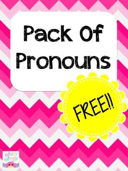 Pack Of Pronouns
