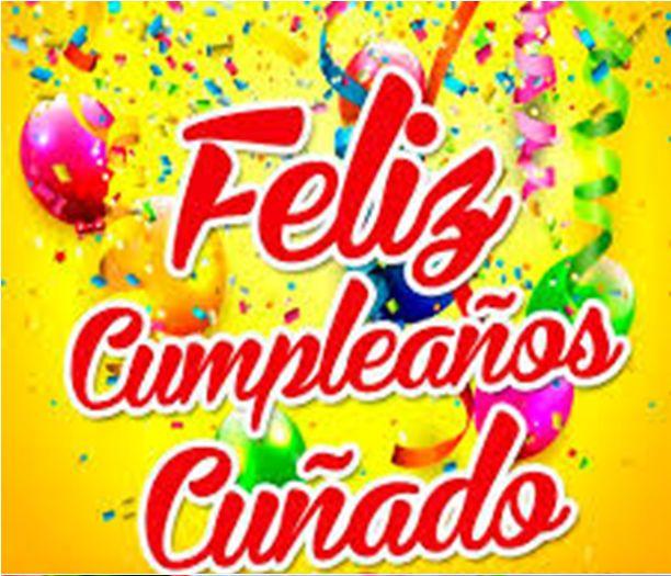 Cuñado Feliz Cumpleaños Fiesta