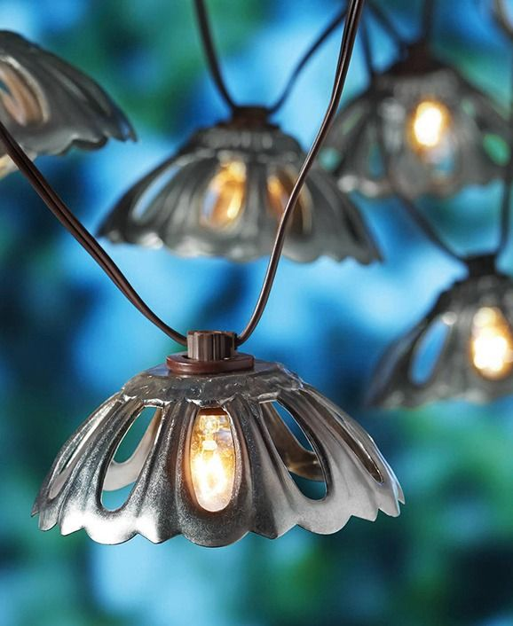 Metal String Lights Outdoor : 210 best images about Outdoor Living on Pinterest Replacement cushions, Walmart and Outdoor rugs