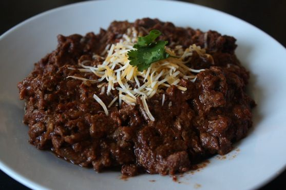 True Texas No Beans Chili - I am still looking for my favorite Texas Chili recipe.  Nothing comes close to Hard Times...