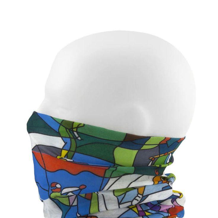 Multifunktionstuch / Schlauchtuch / Halstuch - Be Active in Bekleidung Accessoire  • Schals & Tücher • Multifunktionstücher