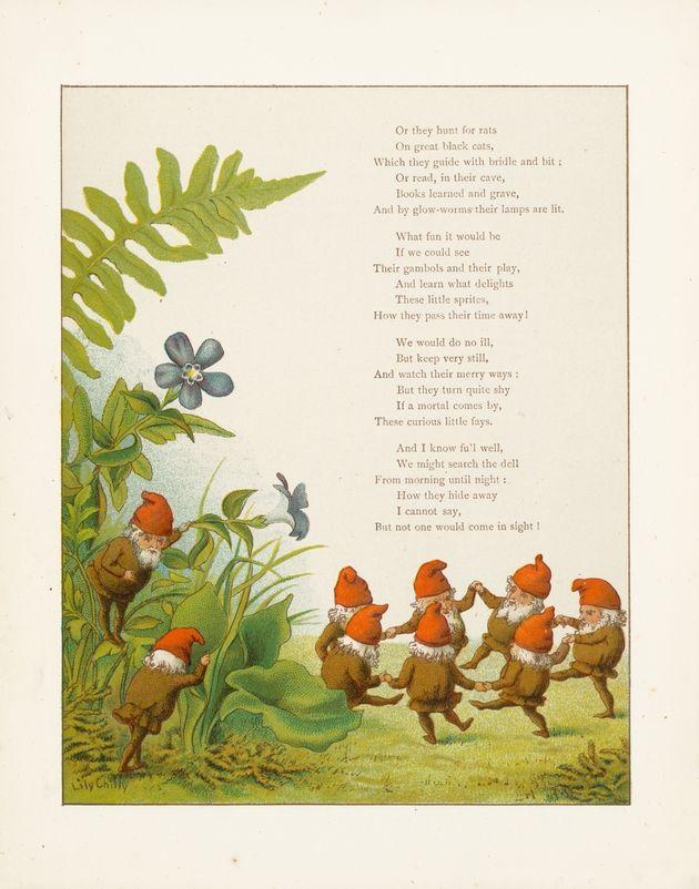 A little poem about elves (page 2).
