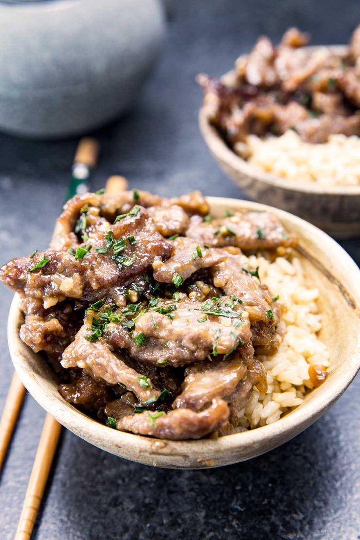 Easy Mongolian Beef via @Rachael Yerkes