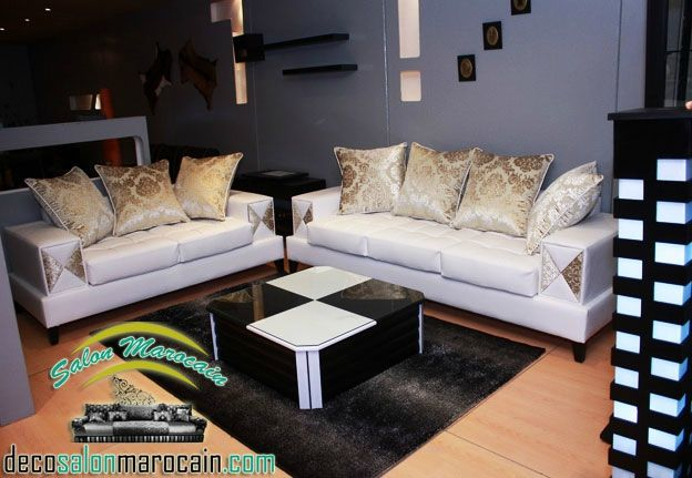 Best 25 salon marocain blanc ideas on pinterest salon - Salon marocain moderne blanc ...