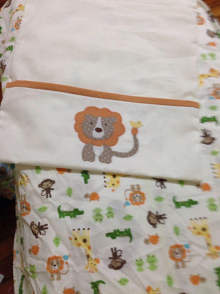 Enxoval de Beb: Molde almofada de