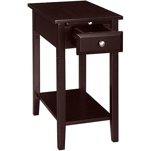 New Visions By Lane Easton Recliner Side Table, Espresso: Furniture :  Walmart.com