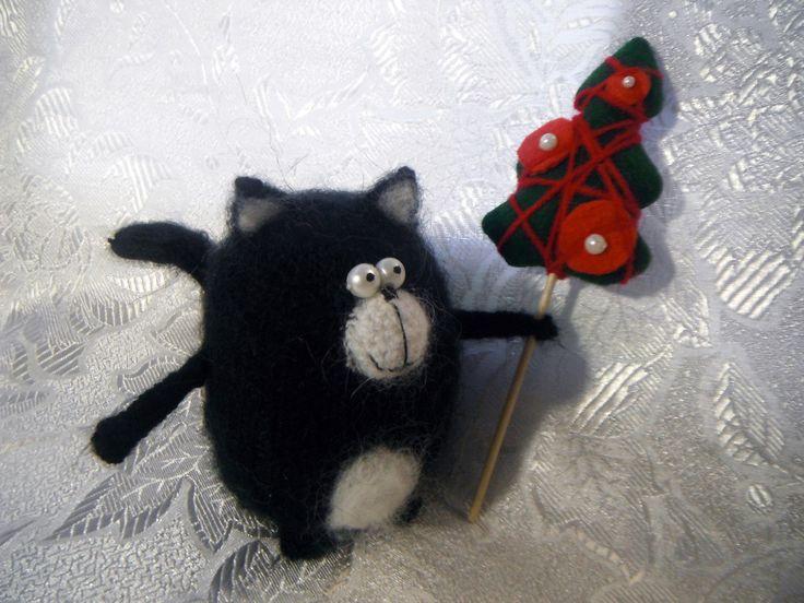 котенок шмяк кот игрушка вязание