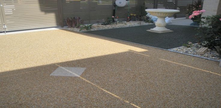 natural driveway solutions | Pebble Pave Permeable Paving around Trees, Patios, Driveways & More!