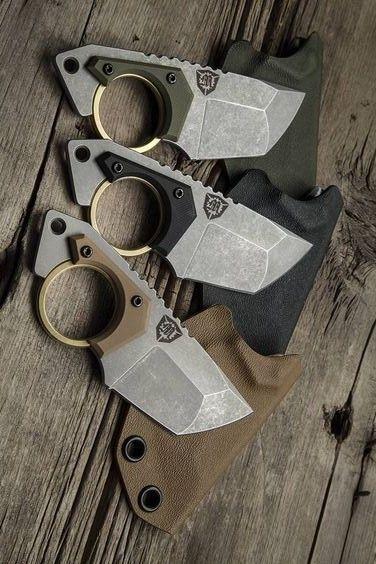 Menovade STUN EDC Fixed Neck Knife Blade