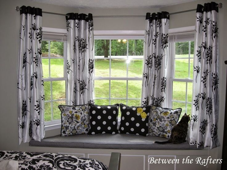 Replicate One Of These Small Laundry Room Ideas So You Never Have To Haul 20 Pounds Window Treatments Living Room Diy Bay Window Curtains Curtains Living Room
